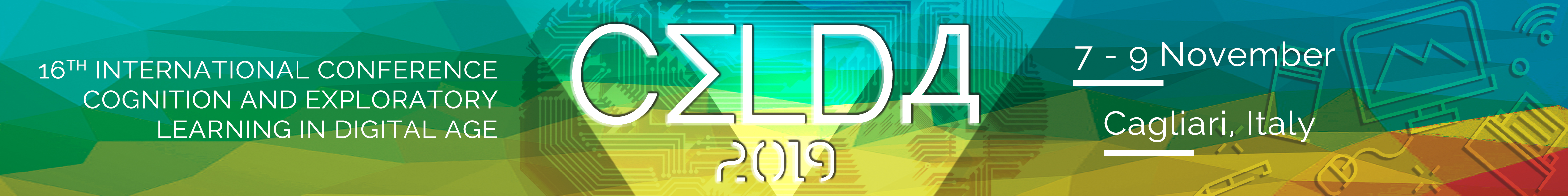 CELDA 2019 – Cognition and Exploratory Learning in Digital Age